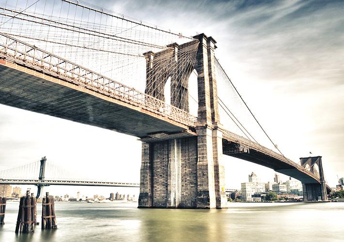 ニューヨークで橋めぐり! 眺め...