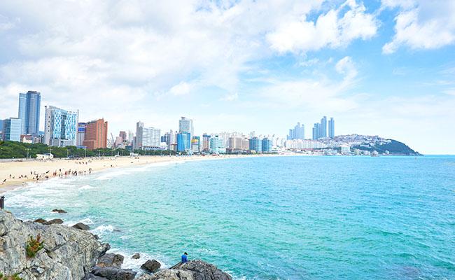 「釜山 ヘウンデビーチ」の画像検索結果