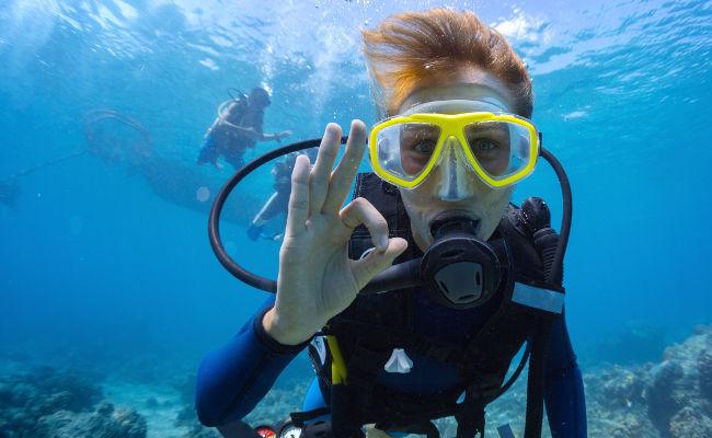 透明な海に感動……シンガポールでスキューバダイビングを楽しもう エアトリ